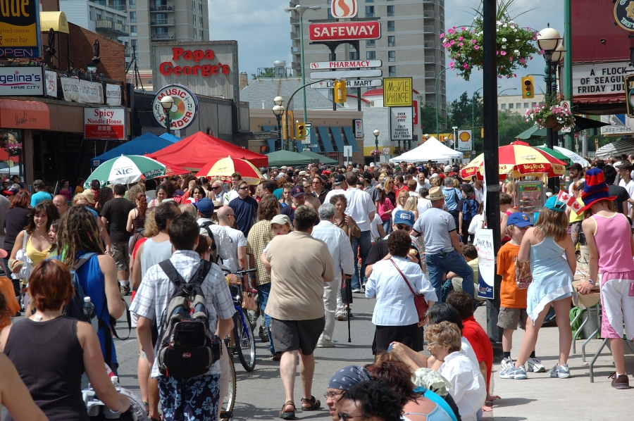 Osborne Village on Canada Day (Brent Bellamy)