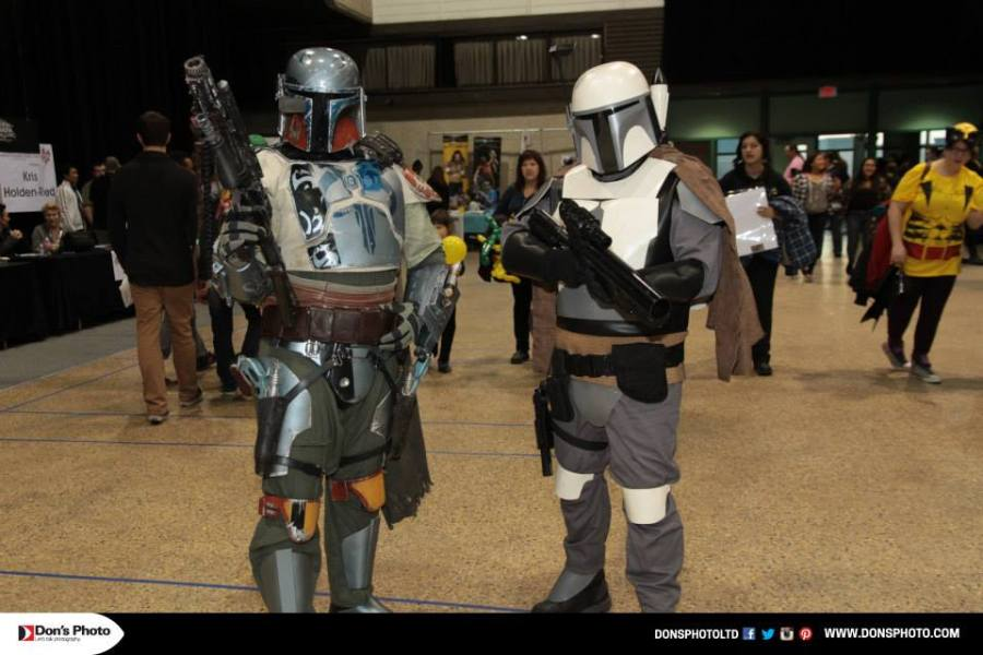 Boba Fett is always big at C4 (Don's Photo/C4)