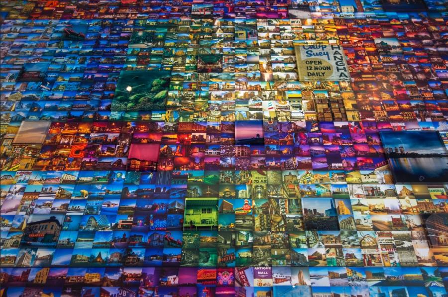 Detail of Bryan Scott's ALT Expo installation (Bryan Scott)