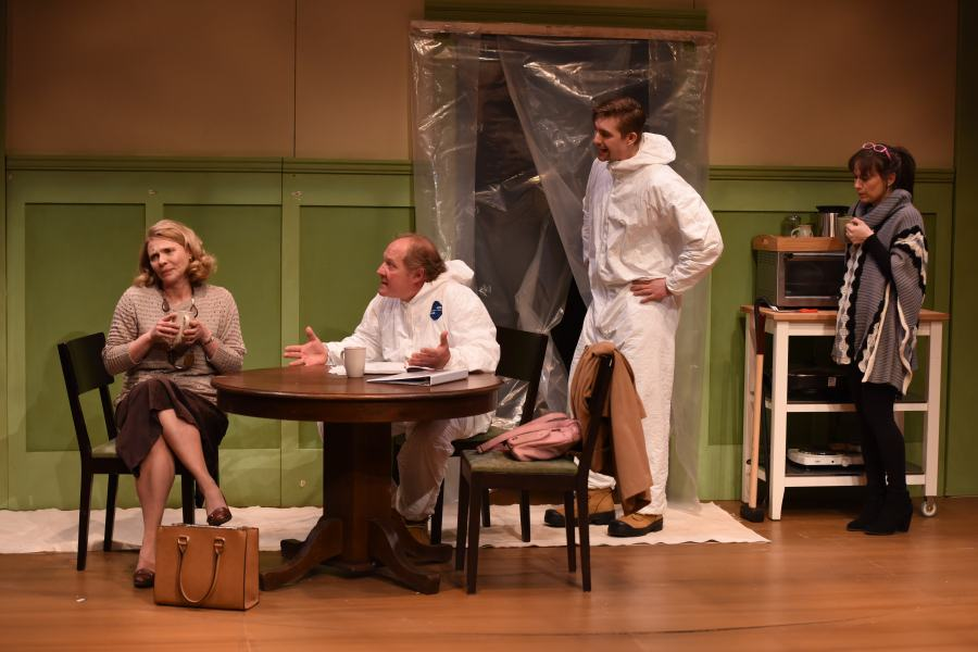 Marina Stephenson Kerr, Tom Anniko, Justin Otto and Erin McGrath (Bruce Monk)