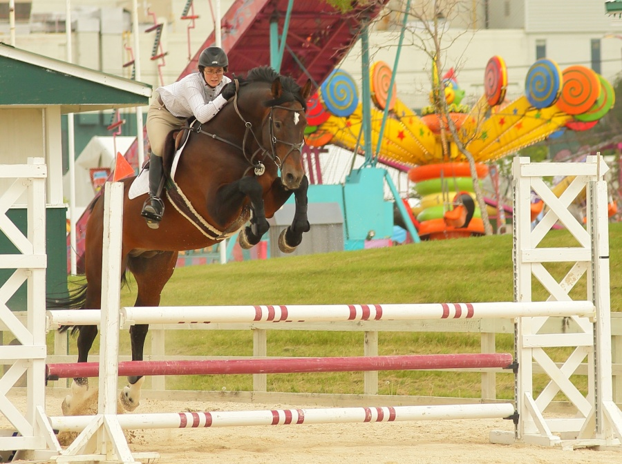 Red River Ride of Rides sees riders and their mounts compete for big money at this prestigious show jumping event (Red River Ex)