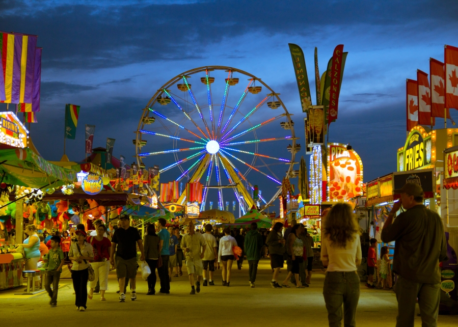 The Red River Ex Midway (photo by John Slipec)