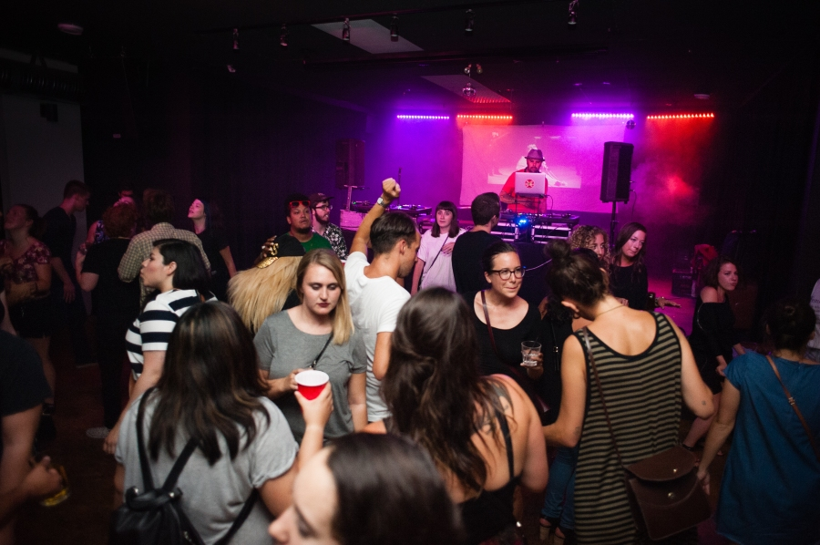 There's always a party happening at the Good Will Social Club (photo by Duncan McNairnay)