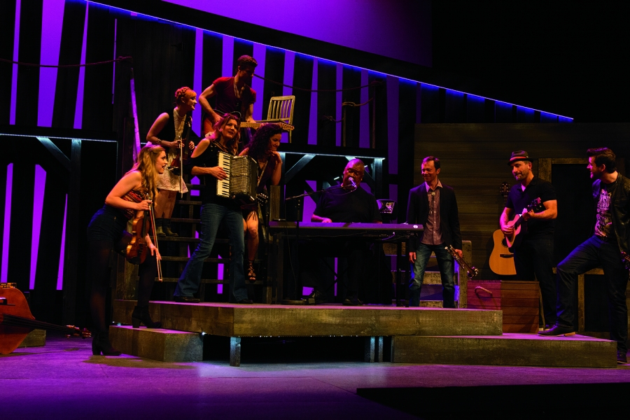 "Rainbow Stage production of the musical ""Ring of Fire"" a tribute to Johnny Cash. (Rainbow Stage production of the musical ""Ring of Fire"" a tribute to Johnny Cash. (Robert Tinker)"